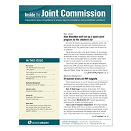 Inside the Joint Commission