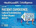 Patient Experience: Cultural Transformation